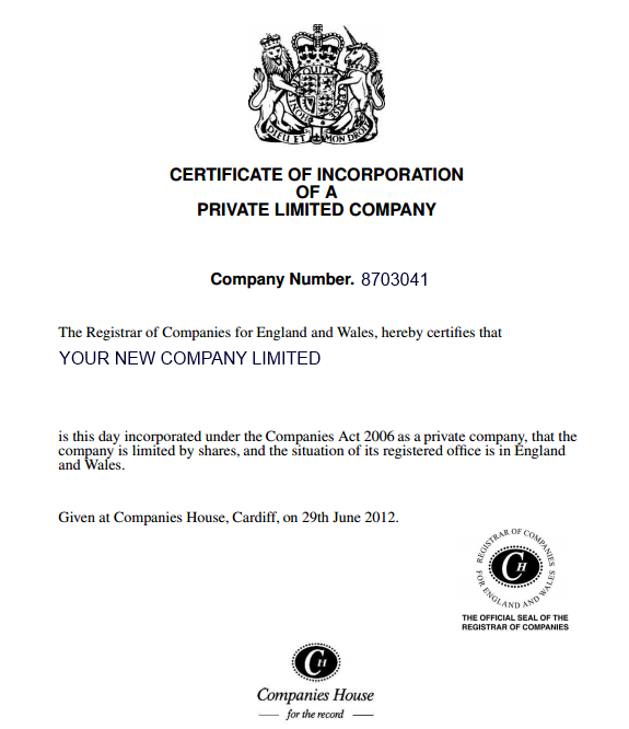 Companies house uk 28 images pin certificate of incorporation companies house uk new company formation companies house approved service yadclub Image collections